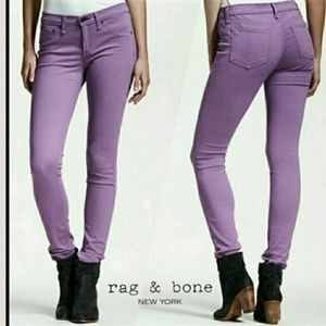 Rag & Bone Purple jeggings 28